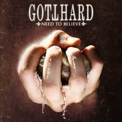 Gotthard y la portada de 'Need to Believe'