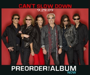 Foreigner, 'Can't Slow Down' al completo