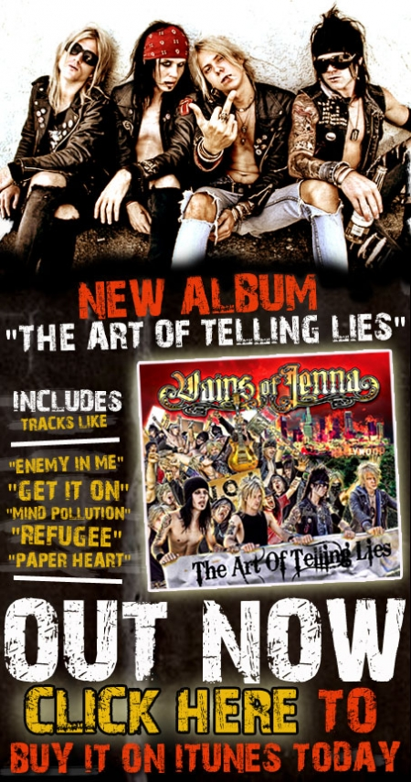 Vains of Jenna:'The Art of Telling Lies'