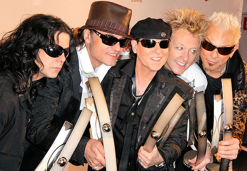 'Sting In The Tail', nuevo disco de Scorpions