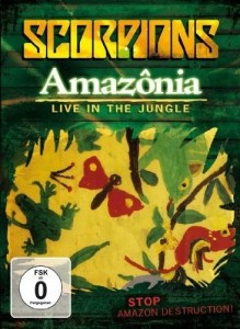 'Amazonia – Live In The Jungle', nuevo DVD de Scorpions