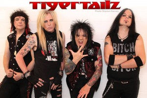 """Pipped It Popped It"": Tigertailz y su homenaje al glam rock"