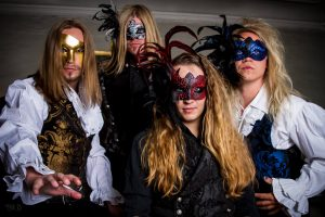 The Grand Masquerade estrenaron el videoclip del single «By My Side»
