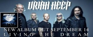 'Living The Dream', el poderoso regreso de Uriah Heep