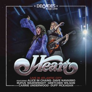'Live In Atlantic City': Heart presenta nuevo material en vivo con invitados especiales