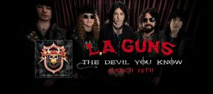 """Rage"", lo nuevo de  L.A. Guns de su disco 'The Devil You Know'"