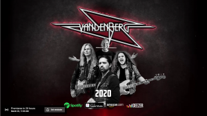 Vanderberg: «Shadows Of The Night» con Ronnie Romero en voz
